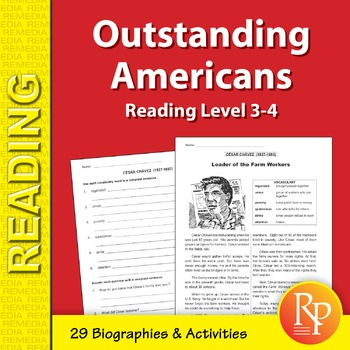 High-Interest / Low Readability: Outstanding Americans