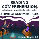 High Interest Low Reading Level Passages with Comprehensio