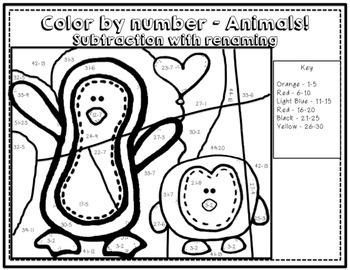 High Interest Math Activities - Animal THEME