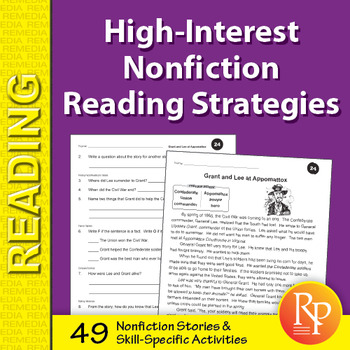 High-Interest Nonfiction Reading Strategies