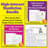 High-Interest Nonfiction Reading Strategies {Bundle}