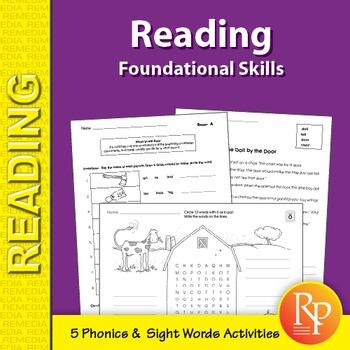 Reading Foundational Skills Sample Set