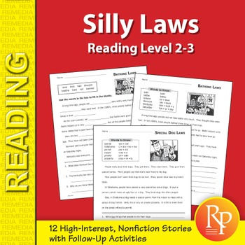 Reading About Silly Laws