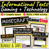 High Interest Informational Text Bundle: Reading Comprehen