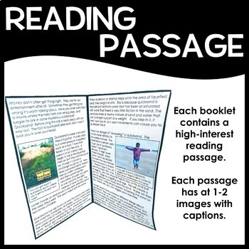 High-Interest Texts - Rocks and Minerals - 10 Reading Comprehension Passages