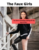 High-Interest  story about a girl with a fake leg with Voc