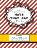 HATE THAT CAT by S. Creech Higher Level Poetry Comprehension Questions