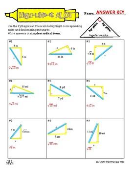 High-Like-It A LOT: Pythagorean Theorem