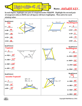 High-Like-It A LOT: Quadrilaterals