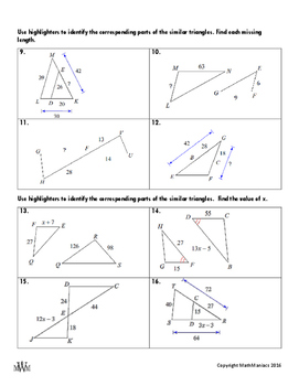 High-Like-It A LOT: Similar Triangles
