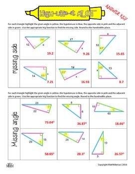 High-Like-It A LOT: Trigonometry