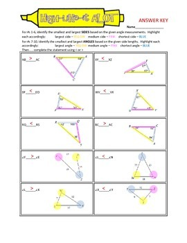 High-Like-It ALOT: Inequalities in Triangles