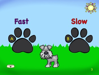 High, Low, Fast or Slow - A Listening Fly-Swatting Game for Young Learners