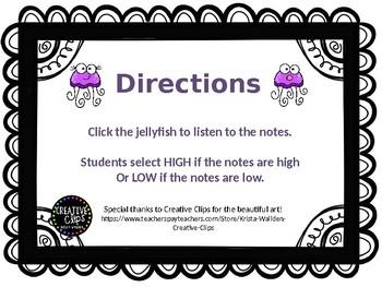 High Low Jellyfish