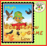 Music Game: High-Low Scarecrow Games, Story, and Activities, K-1st