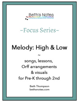 High & Low: Songs, Lessons & Printables