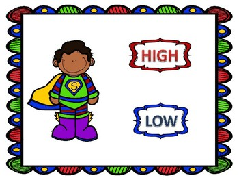High Low Super Heroes