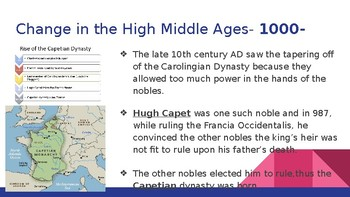 High Middle Ages Lecture