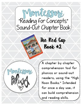 """High Noon Books """"The Red Cap"""" Comprehension"""