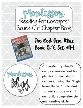 """High Noon Books """"The Red Gem Mine"""" Comprehension"""