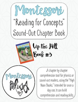 """High Noon Books """"Up the Hill"""" Comprehension"""