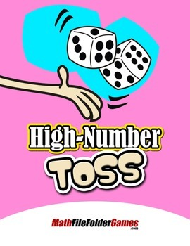 High-Number Toss {Place Value Game}