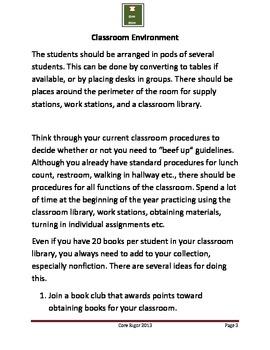High Progress Literacy Classrooms101