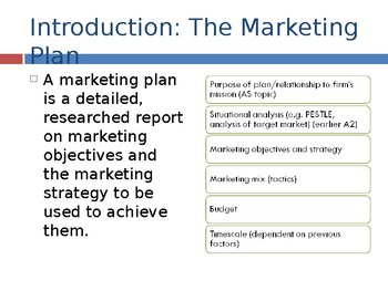 High Quality A Level Business PPTs: Marketing Planning (22 slides) Elasticities