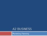 High Quality A Level Business PPTs: Marketing Planning (22