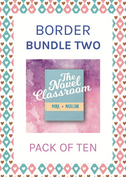 High Quality Border Bundle #2 - 10 Pack of Borders