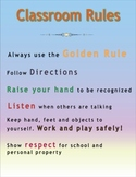 High Quality Classroom Rules