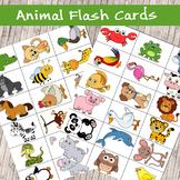 High Quality Printable Animal Flash Cards