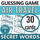 High Quality! Taboo cards - AIR TRAVEL- FULL VERSION