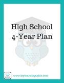 High School 4-Year Plan