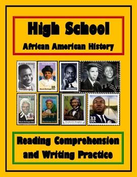 High School African American History Worksheet Bundle / Workbook