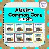 High School Algebra Common Core Standards Practice BUNDLE PACK