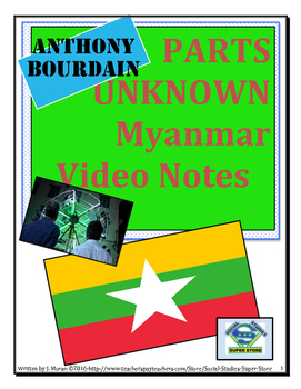 High School: Anthony Bourdain:Parts Unknown - MYANMAR Video Guide