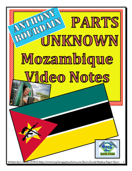 High School: Anthony Bourdain:Parts Unknown - Mozambique Video Guide