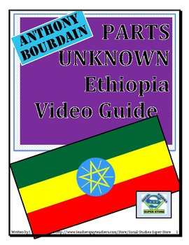 High School-Anthony Bourdain in Ethiopia Video Guide and T