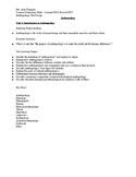 High School Anthropology Unit by Design and Lesson Plans