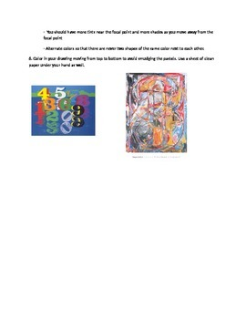 High School Art Composition Lesson