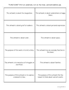 High School Art Criticism Lesson. Critique Lesson Plans and Printables