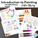 High School Art Worksheets: Introduction to Painting-Color Theory