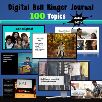 technology writing prompts for high school
