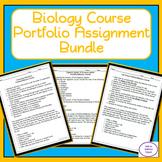 Biology Course Portfolio Assignment Bundle: 15 Separate Unit Portfolios