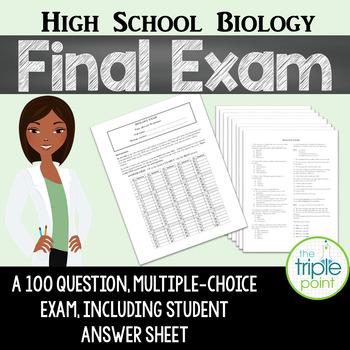 High School Biology Final Exam