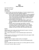 High School Biology: Natural Selection Unit