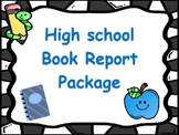 High School Book Report / Book Review