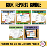 Middle or High School Book Report Rubric Bundle