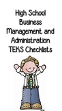 High School Business Management and Administration TEKS Ch